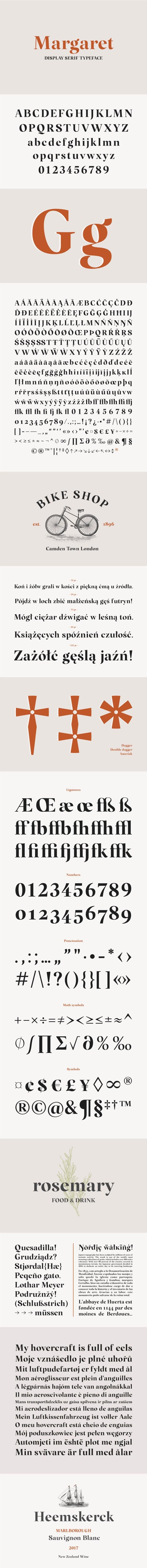 Margaret Serif Free Font