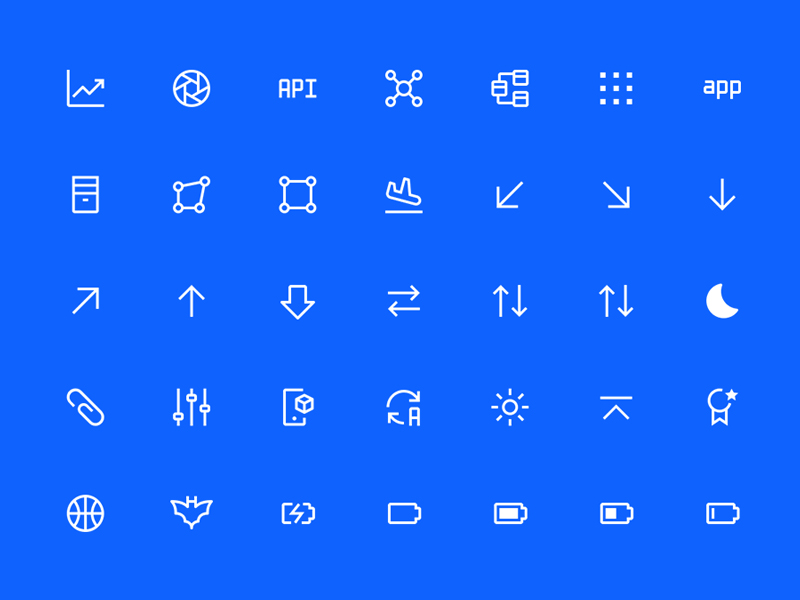 IBM Carbon Icons for Figma