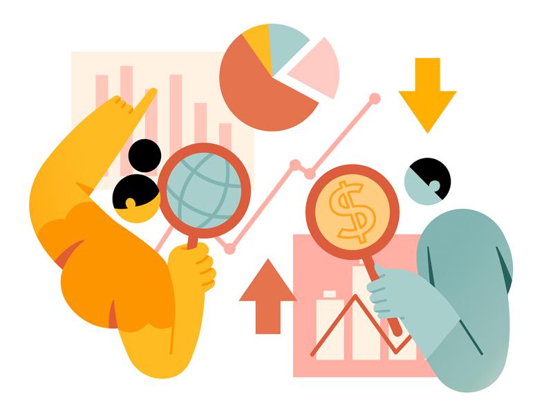 Economy & Finance Free Illustrations