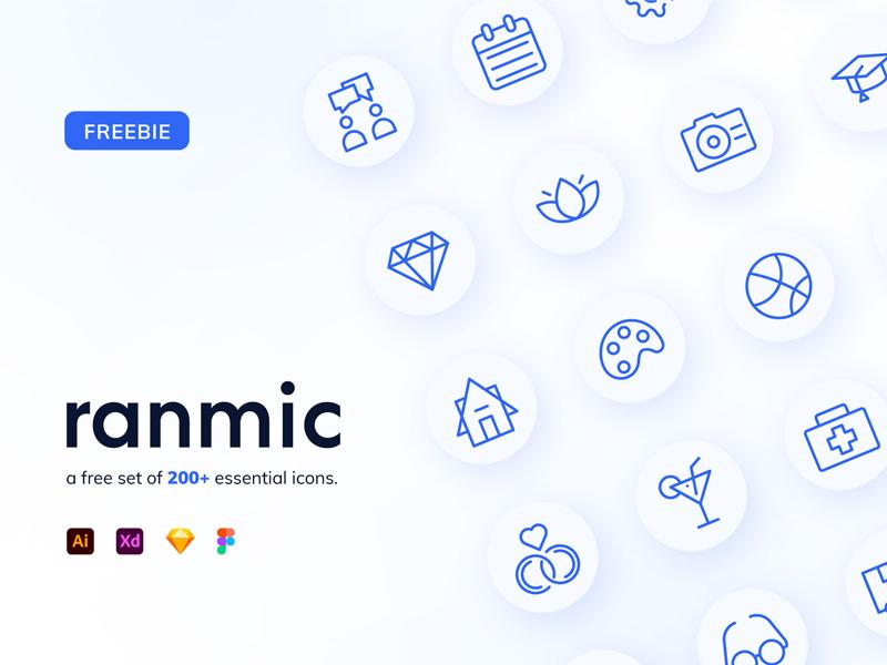 Ranmic — Random Miscellaneous Free Icons