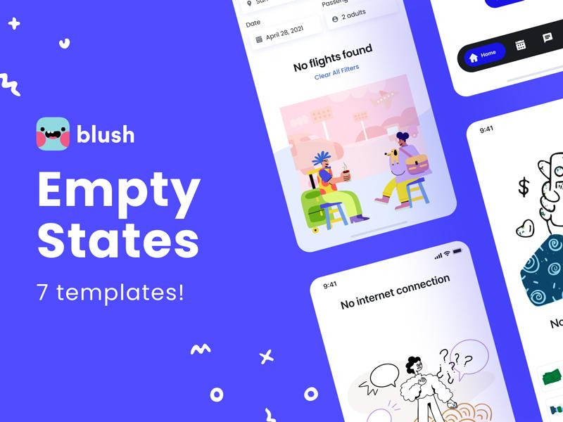 Empty States Free UI Kit for Figma