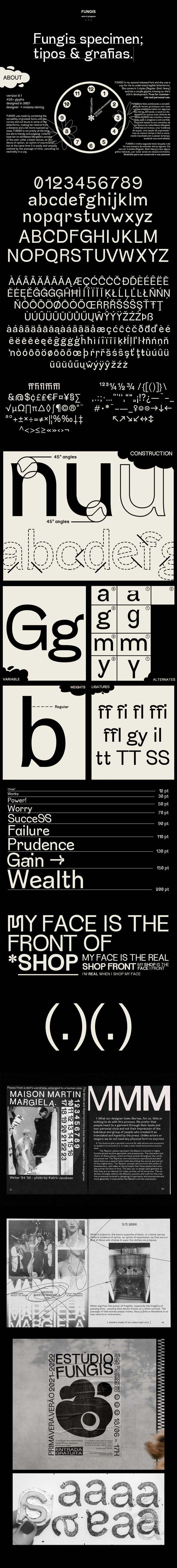 Fungis Free Typeface