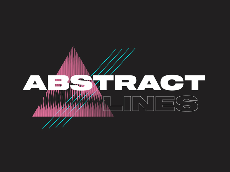 Free Vector Abstract Lines for Figma