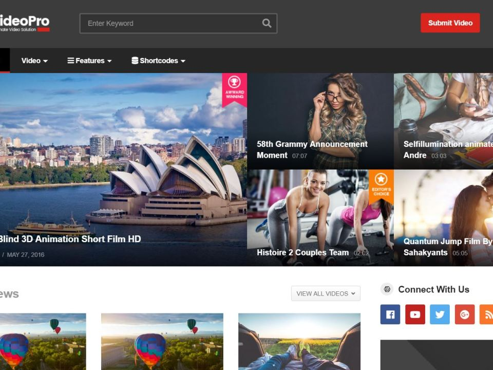 Best Video WordPress Themes of 2019