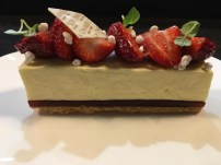 Chanson's Strawberry Cheesecake. Got a 'whole' cake of this for Mother's Day @ $40 for barely 4 slices. Worth it? Can't say it was.