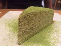 I only really go to Prince Tea House for the green tea crepe.