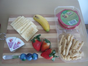My go to picky plate for an afternoon snack.