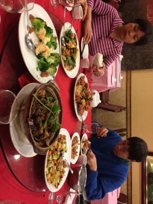 January babies birthday dinner