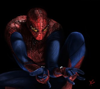 amazing_spider_man_by_munkhkhuder-d5es7lg