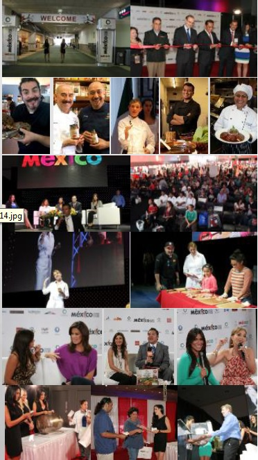 Mexico Food Fair, Los Angeles Convention Center 3-day event: Aug. 21-23, 2014