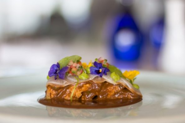 Turkey con Mole at Grand Velas Riviera Maya (via www.TheMexicoReport.com)
