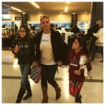 The Mexico Report's Susie Albin-Najera and kids on Southwest Airlines to Mexico