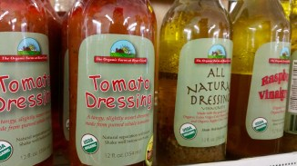 The Organic Farm at Bear Creek sells organic dressing, salsa, jams, tea and soups at the MacCracken market.