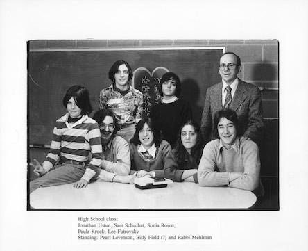 Rabbi Mehlman, 1977