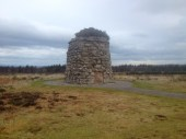 Culloden Battlefield, the site of the final defeat of the Jacobite movement