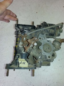 2N - Bendix Stromberg injection carburetor, serial #854733, model OD (or CD)-9D1