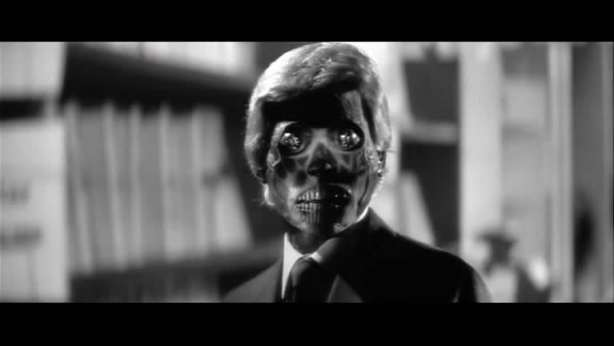 """A still from the 1998 film """"They Live"""""""