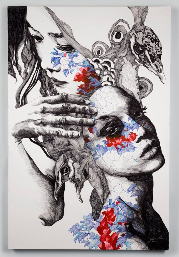 Illustrations Of Gabriel Moreno Microscopic Giant