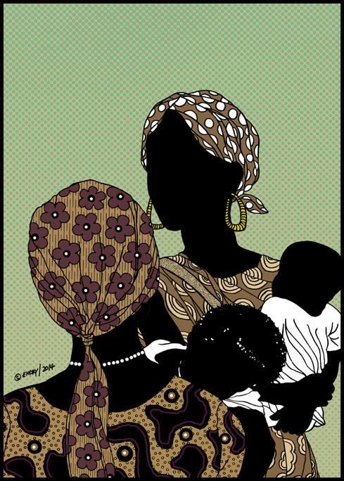 Illustration by Emory Douglas
