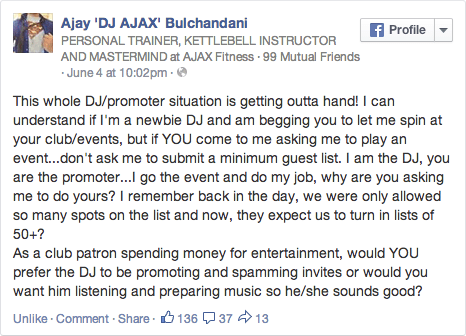 Ajax_DJs_vs_Promoters_FB_Status_Screen shot 2014-06-15 at 6.08.04 PM