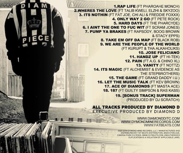 Diamond_D_Diam_Piece_Tracklist_Cover_4