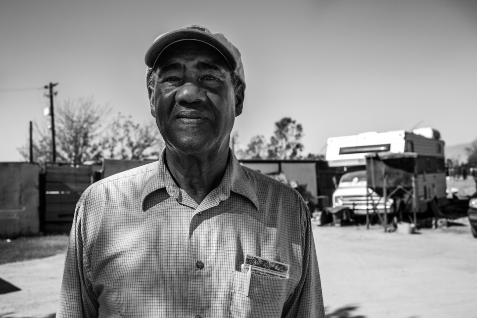 71-year-old Vietnam veteran James McGill, has been a pig farmer for  over 50 years.
