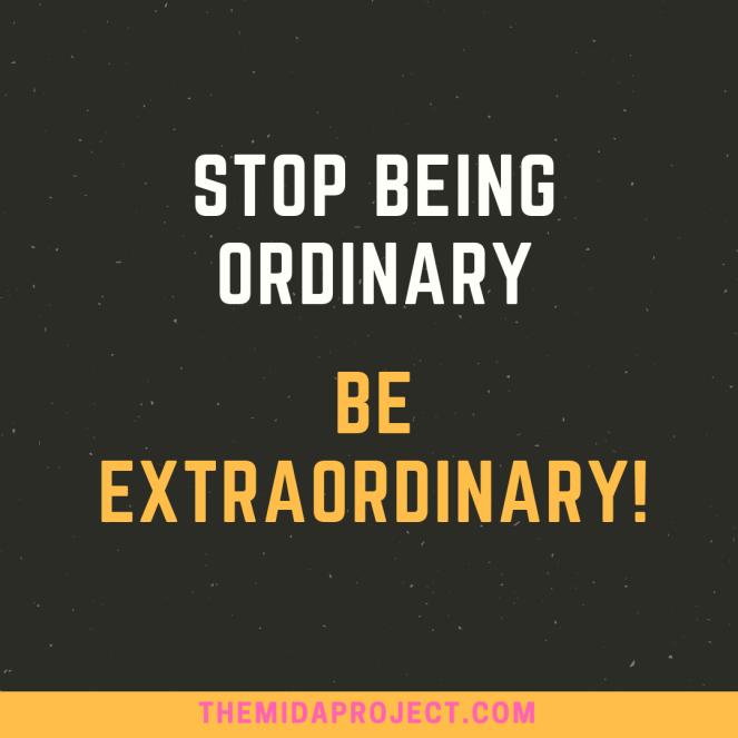 Ordinary and Extraordinary