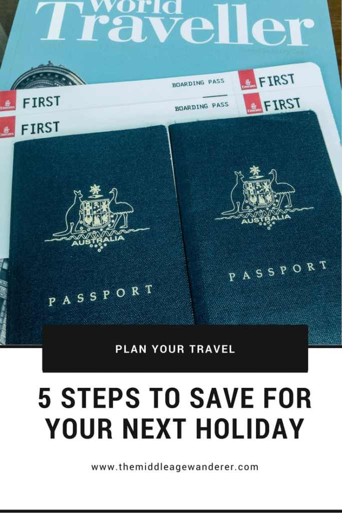 5 Steps to Save for Your Next Holiday