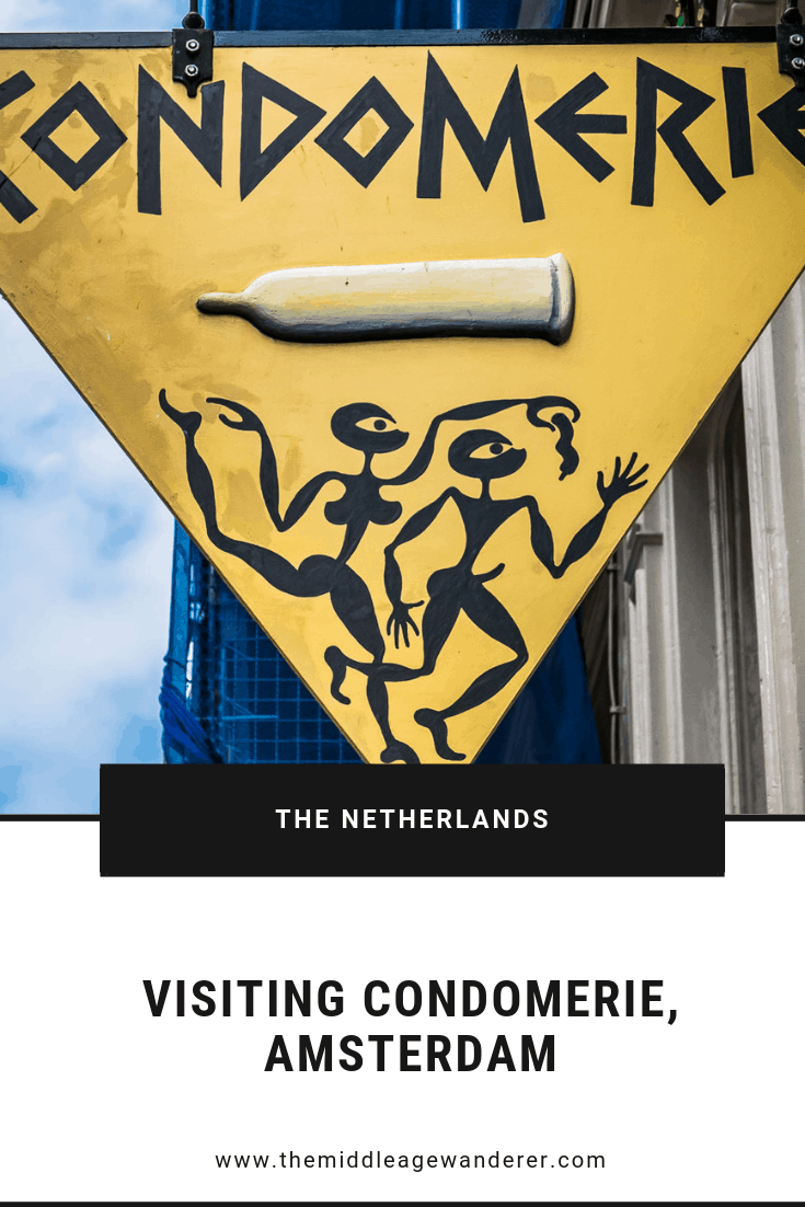 Visiting Condomerie, Amsterdam   Do you have problems finding gifts to take home? Condomerie has great gifts that are easy to pack.  #travel #Amsterdam #safesex #condoms #redlightdistrict