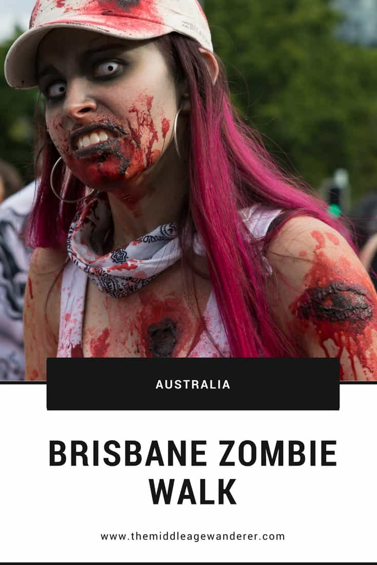 Zombie Apocalypse? Attending the Brisbane Zombie Walk