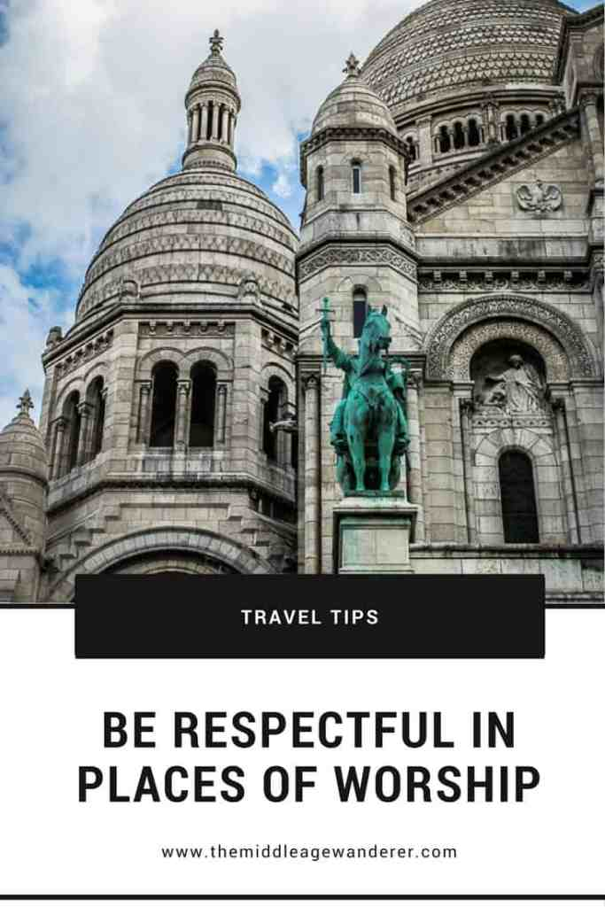 Be Respectful in Places of Worship