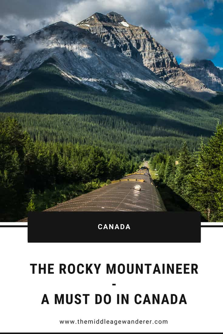 The Rocky Mountaineer - A Must Do In Canada  The Rocky Mountaineer is one of those iconic experiences that many of us want to do.  So we decided to check it off our bucket list.  #travel #Canada #RockyMountaineer #traintrips