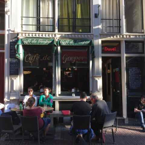 Our Local Bar in Amsterdam – Cafe De Gaeper