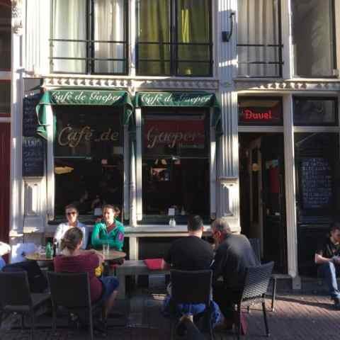Our Local Bar in Amsterdam – Cafe De Gaeper