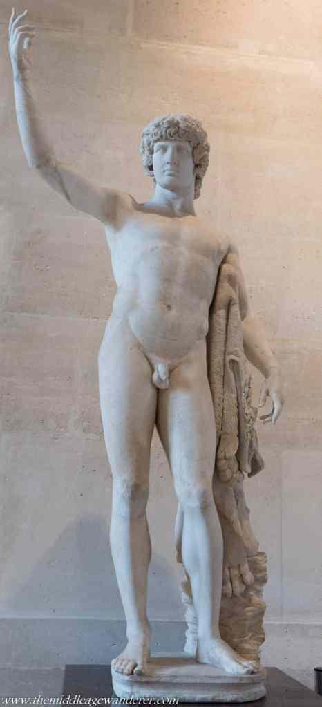 Male Statues & Their Appendages - Paris