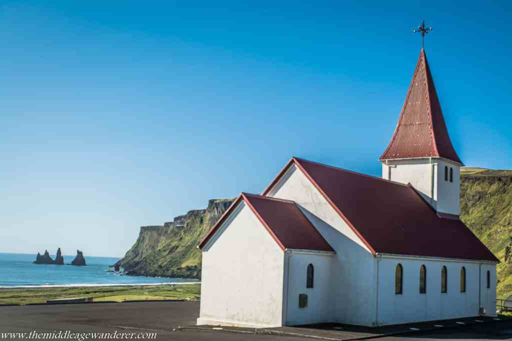 Vík í Mýrdal Church, Iceland