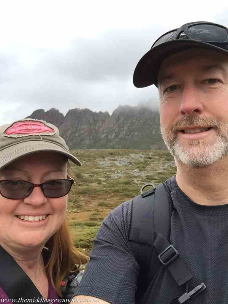 Selfie at Cradle Mountain
