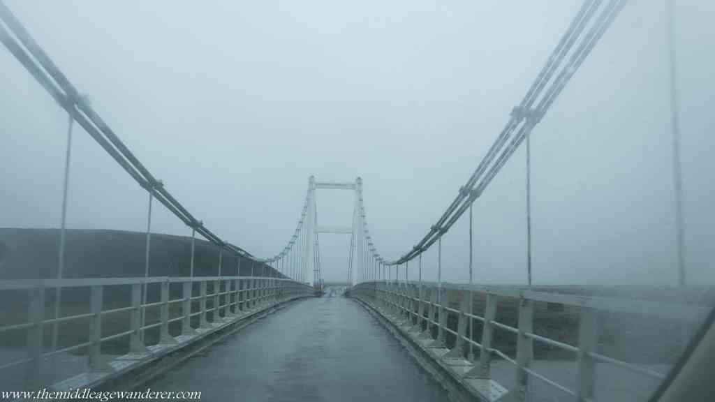A single lane bridge