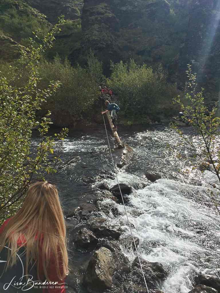 Glymer Waterfall