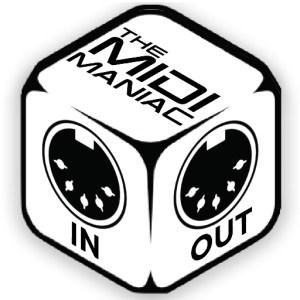 The MIDI Maniac logo