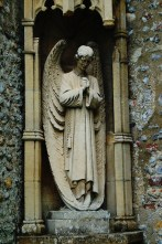 Angel on wall