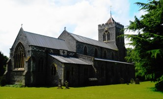Therfield Church