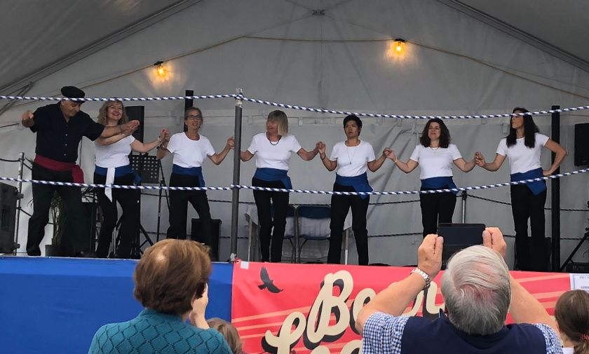 Vancouver Greek Summerfest folk dancing