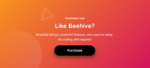 Beehive | Purchase Theme