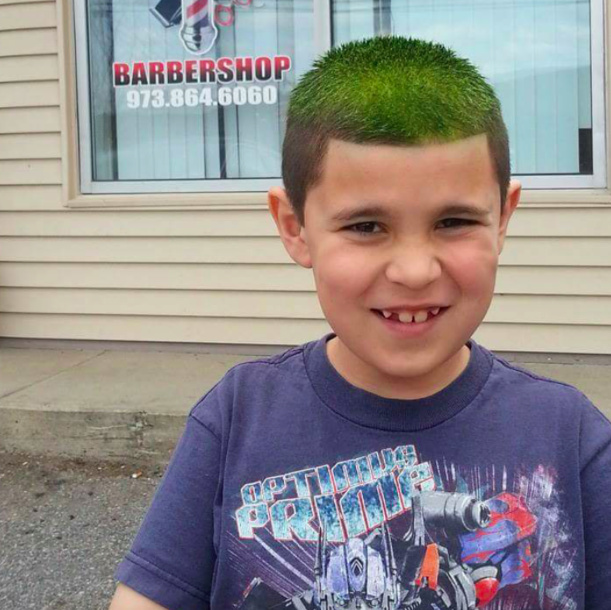 autism and haircuts