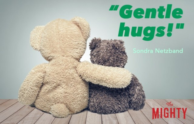 Friendship. Two teddy bears