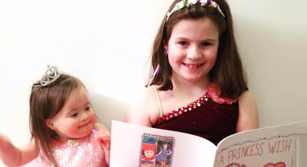 Maria Jordan MacKeigan Writes A Princess Wish Book About Daughter With Down Syndrome The Mighty