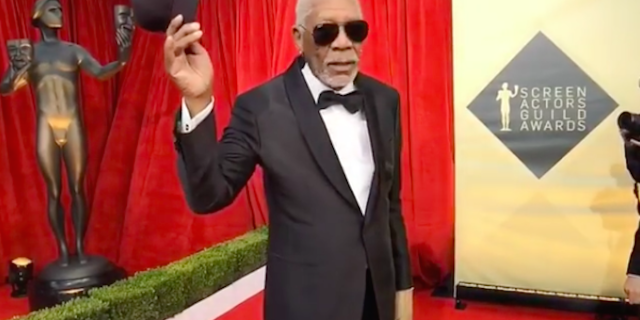 Image result for Chronic Warriors Will Understand Why Morgan Freeman Only Wore One Glove at the SAG Awards