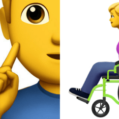 Wheelchair Emoji Gold Sashes For Chairs Apple S Proposed Emojis Depicting Disabilities Approved The Mighty