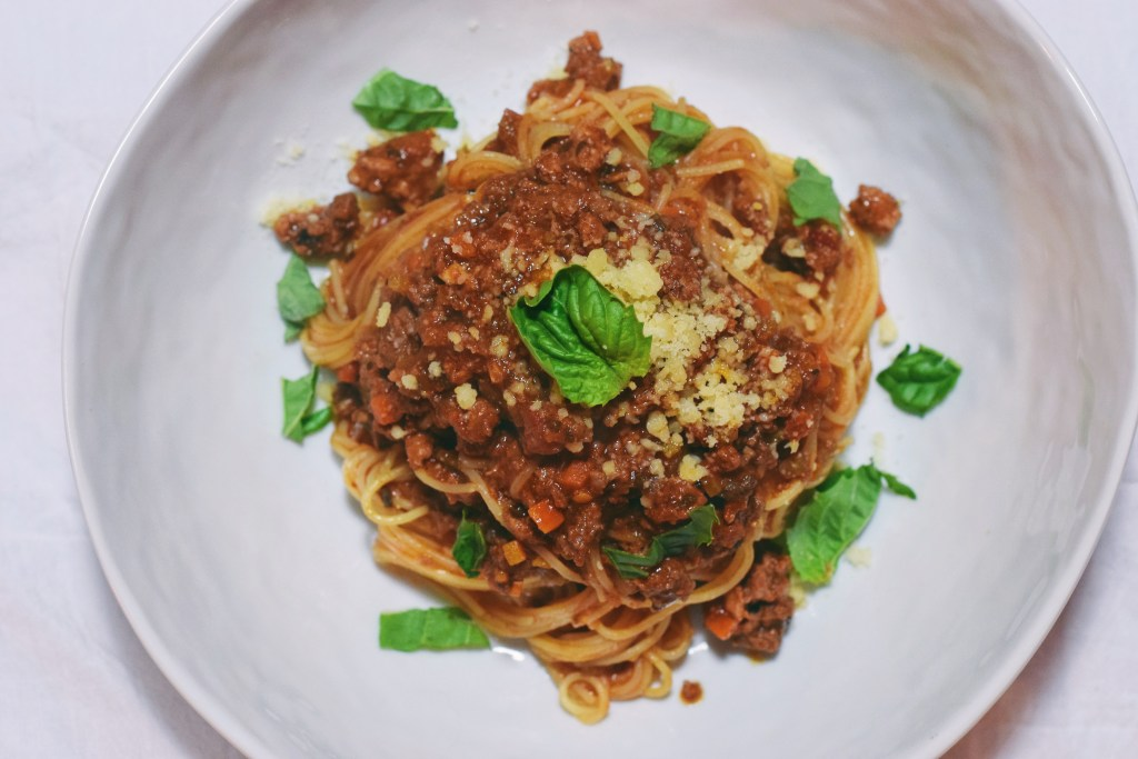 Sunday Supper: Spaghetti Bolognese